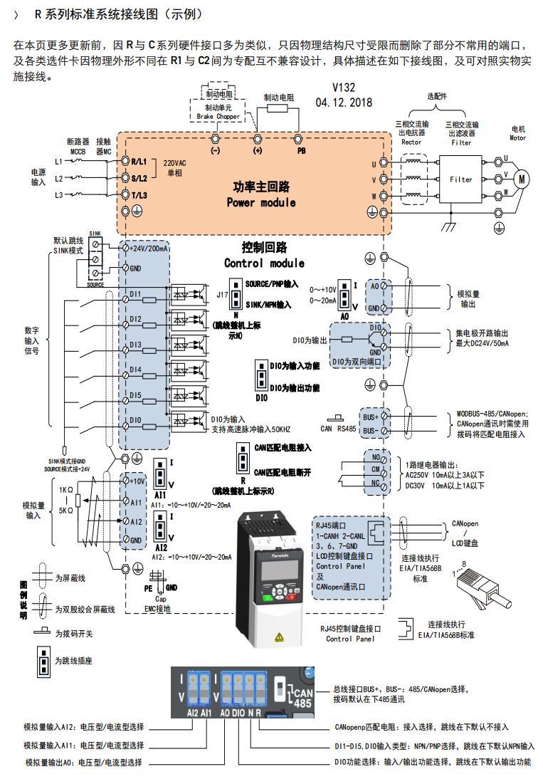 通用标量控制型驱动器